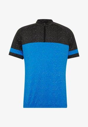 RAUMO - Print T-shirt - blue