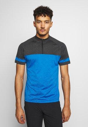 RAUMO - T-shirt z nadrukiem - blue