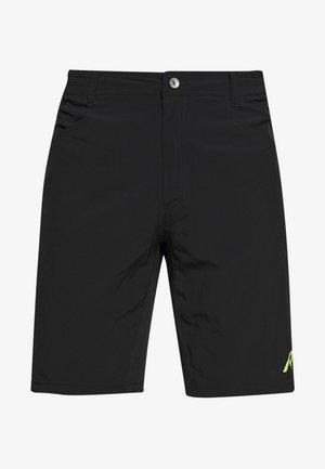 RAINIO 2-IN-1 - Sports shorts - black