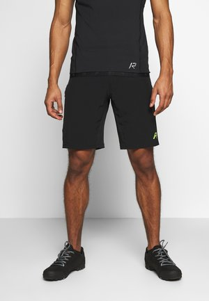 RAINIO 2-IN-1 - kurze Sporthose - black