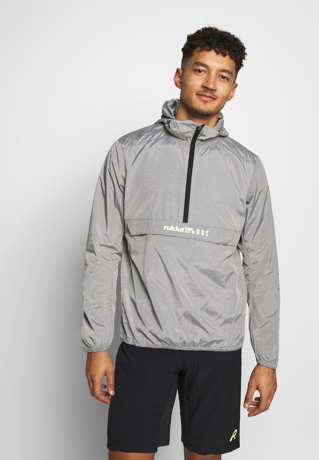 RUKKA MAANINKA - Windbreaker - grey