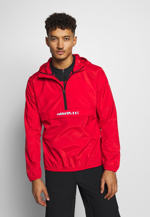 RUKKA MAANINKA - Windbreaker - red