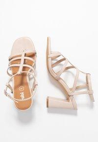 Rubi Shoes by Cotton On - FARRAH STRAPPY TOE POST  - Sandales à talons hauts - nude - 3