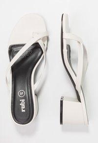 Rubi Shoes by Cotton On - BRIONY TOE POST  - tåsandaler - offwhite smooth - 3