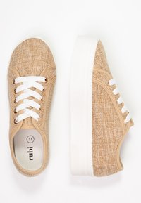 Rubi Shoes by Cotton On - WILLOW PLATFORM - Sneakers basse - natural - 3