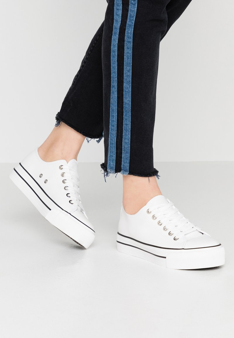 Rubi Shoes by Cotton On - PLATFORM JODI - Trainers - white