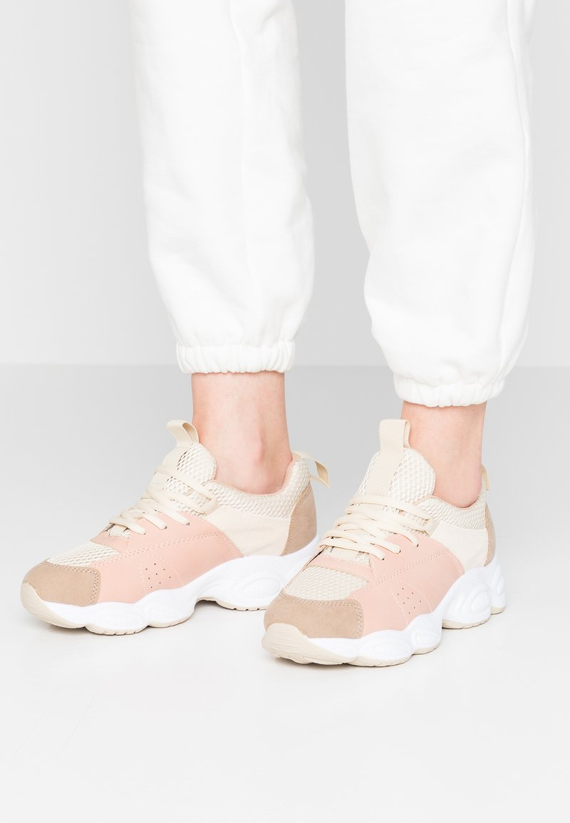 Rubi Shoes by Cotton On - BUBBLE CHUNKY - Sneaker low - camel/blush/multicolor