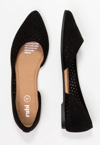 Rubi Shoes by Cotton On - PIPER LASER POINT - Bailarinas - new black