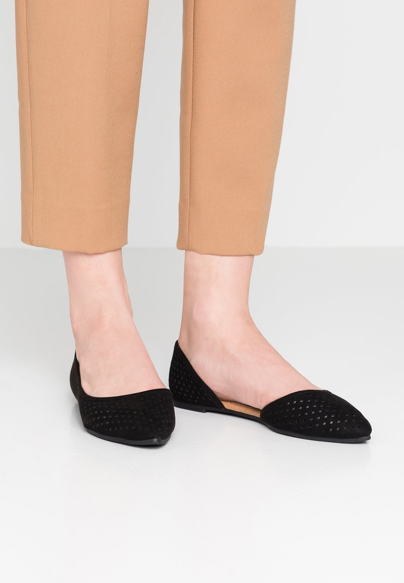 Rubi Shoes by Cotton On - PIPER LASER POINT - Ballet pumps - new black