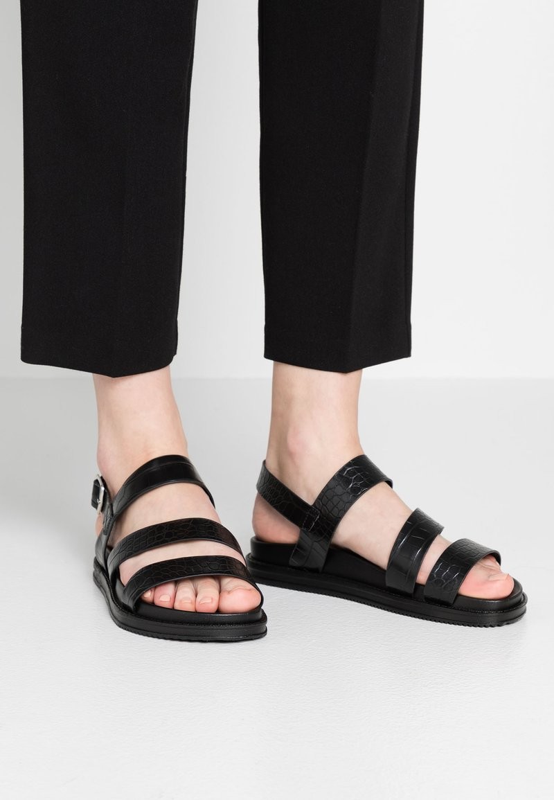 Rubi Shoes by Cotton On - CARTER CHUNKY - Sandals - black