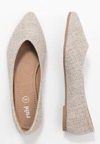 Rubi Shoes by Cotton On - VALERIE TOPLINE POINT - Baleríny - taupe - 3