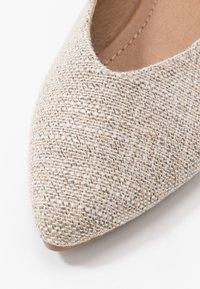 Rubi Shoes by Cotton On - VALERIE TOPLINE POINT - Baleríny - taupe - 2