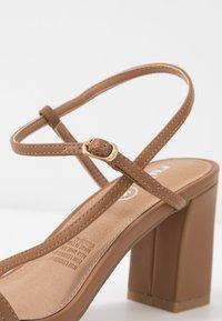 Rubi Shoes by Cotton On - HANNAH THIN STRAP HEEL - Sandaler - tan - 2