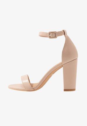 SAN LUIS - Korolliset sandaalit - pale taupe