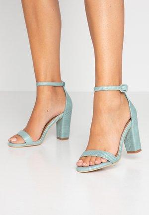 SAN LUIS - Sandaler med høye hæler - sage green