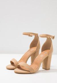 Rubi Shoes by Cotton On - SAN LUIS - Sandály na vysokém podpatku - cinnamon - 4