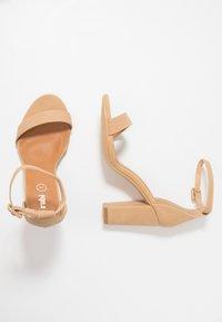 Rubi Shoes by Cotton On - SAN LUIS - Sandály na vysokém podpatku - cinnamon - 3