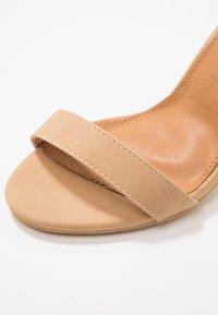 Rubi Shoes by Cotton On - SAN LUIS - Sandály na vysokém podpatku - cinnamon - 2