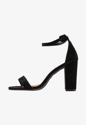 SAN LUIS - Sandalen met hoge hak - black