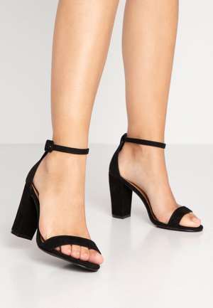 SAN LUIS - Sandaler med høye hæler - black