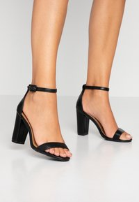 Rubi Shoes by Cotton On - SAN LUIS - High heeled sandals - black - 0