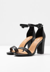 Rubi Shoes by Cotton On - SAN LUIS - High heeled sandals - black - 4
