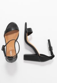 Rubi Shoes by Cotton On - SAN LUIS - High heeled sandals - black - 3