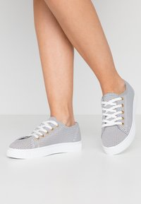 Rubi Shoes by Cotton On - CHELSEA CREEPER PLIMSOLL - Sneakers - black/white - 0