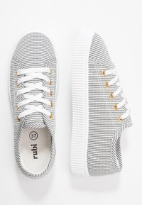 Rubi Shoes by Cotton On - CHELSEA CREEPER PLIMSOLL - Sneakers - black/white - 3