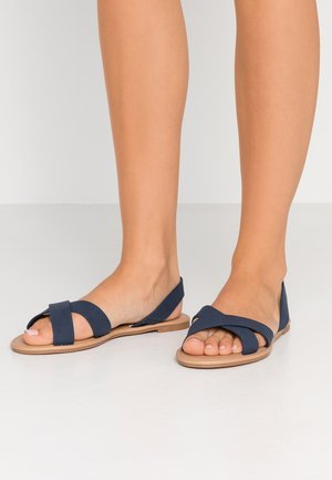 EVERYDAY BANTING CROSSOVER - Sandales - navy