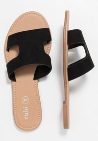 Rubi Shoes by Cotton On - EVERYDAY CYPRESS SLIDE - Pantofle - black - 3