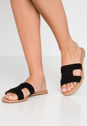 EVERYDAY CYPRESS SLIDE - Matalakantaiset pistokkaat - black