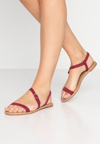 Rubi Shoes by Cotton On - EVERYDAY BELLA WRAP  - Sandály - cabernet - 0