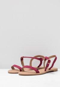 Rubi Shoes by Cotton On - EVERYDAY BELLA WRAP  - Sandaler - cabernet - 4