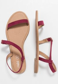 Rubi Shoes by Cotton On - EVERYDAY BELLA WRAP  - Sandaler - cabernet - 3