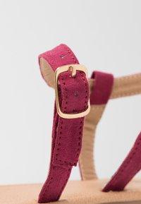 Rubi Shoes by Cotton On - EVERYDAY BELLA WRAP  - Sandaler - cabernet - 2
