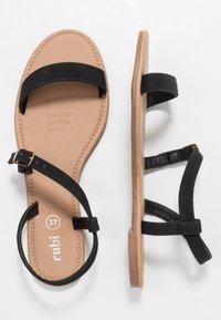 Rubi Shoes by Cotton On - EVERYDAY BELLA WRAP  - Sandaalit nilkkaremmillä - black - 3