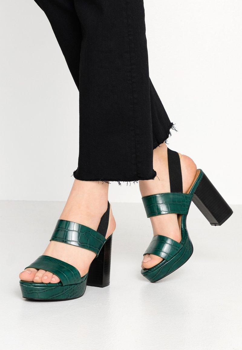 Rubi Shoes by Cotton On - AVA PLATFORM - Sandali con tacco - green