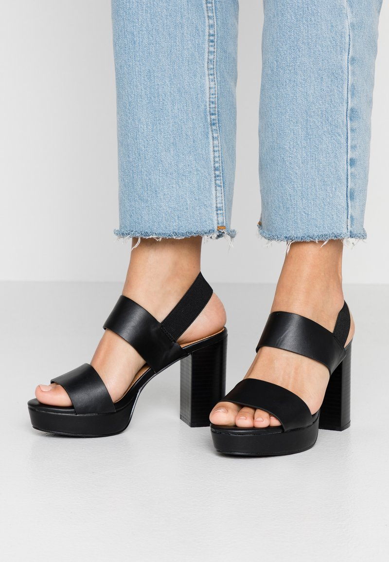 Rubi Shoes by Cotton On - AVA PLATFORM - High Heel Sandalette - black