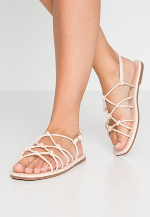 LADYLIKE STRAPPY  - Sandals - nude