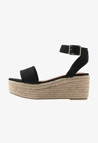 Rubi Shoes by Cotton On - CAITLIN WEDGE HEEL - Sandały na platformie - black - 1