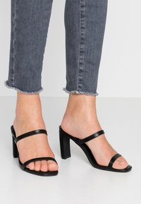 Rubi Shoes by Cotton On - LENNOX MULE - Pantolette hoch - black - 0