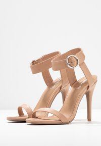 Rubi Shoes by Cotton On - SKYLAR STILLETTO - High heeled sandals - light taupe smooth - 4
