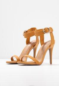 Rubi Shoes by Cotton On - SKYLAR STILLETTO - High heeled sandals - mustard - 4