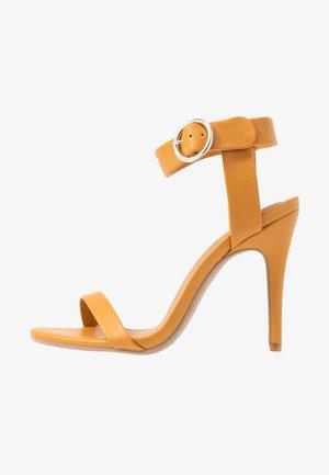 SKYLAR STILLETTO - High heeled sandals - mustard