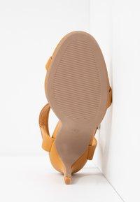 Rubi Shoes by Cotton On - SKYLAR STILLETTO - High heeled sandals - mustard - 6