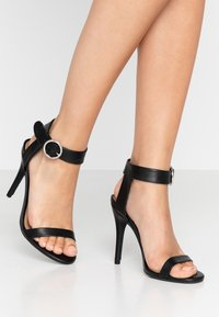 Rubi Shoes by Cotton On - SKYLAR STILLETTO - High heeled sandals - black smooth - 0