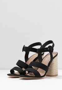 Rubi Shoes by Cotton On - SANTAL STRAPPY - Sandalen met hoge hak - black - 4