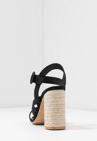 Rubi Shoes by Cotton On - SANTAL STRAPPY - Sandalen met hoge hak - black - 5