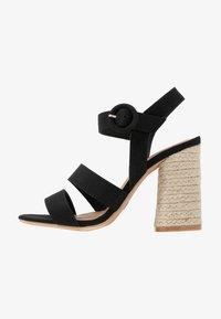 Rubi Shoes by Cotton On - SANTAL STRAPPY - Sandalen met hoge hak - black - 1